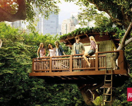 Playlife Treehouse Campaign